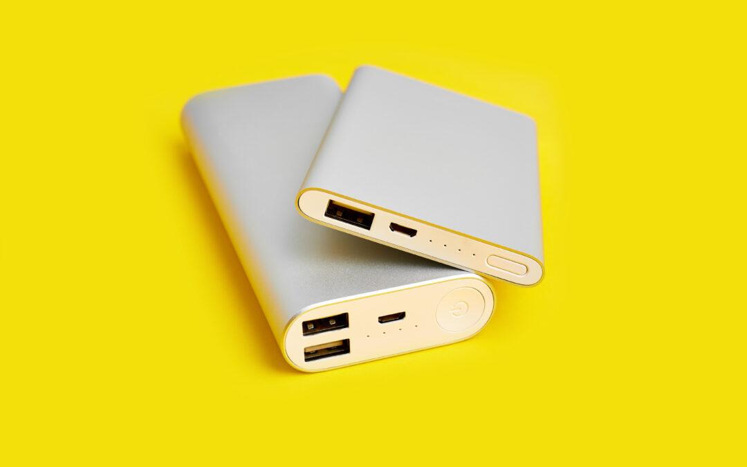 5 baterías portátiles para mantener el teléfono siempre cargado