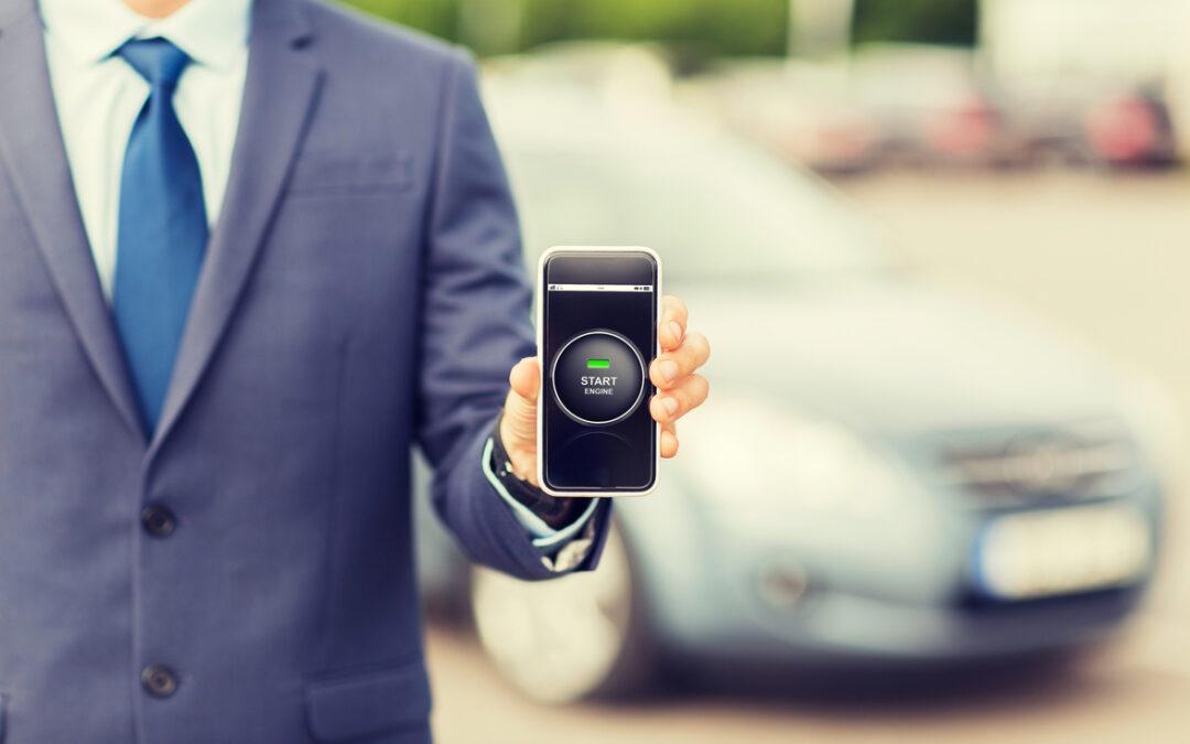 El móvil ayuda a aparcar