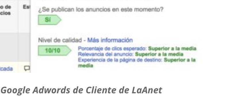 Empresario, porque utilizar Google Adwords en tus campañas de publicidad con LaAnet