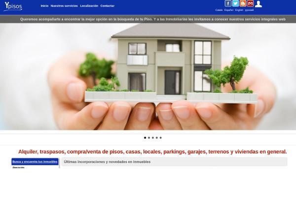 Portal inmobiliario con cientos de inmuebles